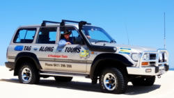4wd guided tours,tag-along tours,4wd passenger tours